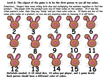SPRING BUMP: Addition, Subtraction, and Multiplication Fluency