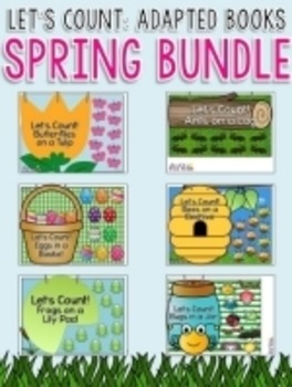 SPRING BUNDLE - Let's Count: Counting Adapted Books