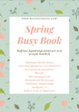 SPRING BUSY BOOK