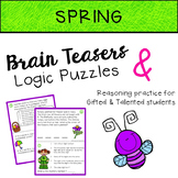 SPRING Brain Teasers & Logic Puzzles