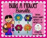 SPRING Build A Flower Bundle (Numbers 1-20, Digraphs, & Sentence Building)