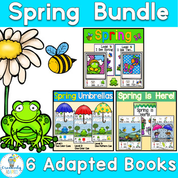 Interactive Books SPRING BUNDLE- 6 Adapted Books