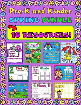 SPRING Bundle for Pre-K and Kinder