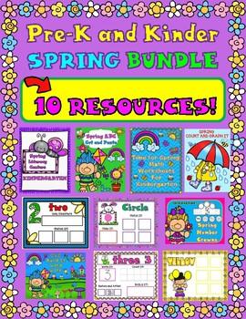 SPRING Bundle for Pre-K and Kinder