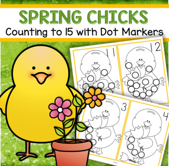 Dot Markers SPRING Numbers