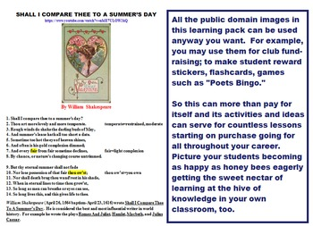SPRING CLASS LOVE POEMS PACK (67 pp, Poems w Arts and Crafts Ideas, etc)