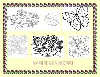 SPRING COLORING PAGE: CELEBRATE THE SEASON!