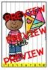 SPRING MATH CENTER KINDERGARTEN (APRIL ACTIVITY PUZZLES) NUMBERS TO 100 PRACTICE