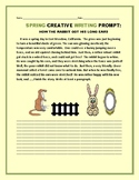 SPRING CREATIVE WRITING PROMPT: HOW THE RABBIT GOT HIS LONG EARS