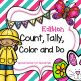 SPRING  Color, Count, Tally and Do- Instant and Interactive Math