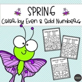 SPRING Color by Even & Odd Numbers