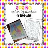 SPRING Color by Number FREEBIE