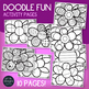 SPRING Activity Pages - Doodle Coloring Pages for SPRING - Art - Early Finishers