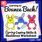 Counseling Coping Skills Worksheet - Spring