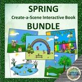 SPRING Create-a-Scene Interactive Book BUNDLE