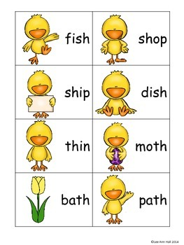 SPRING Digraph Word Work