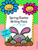 SPRING EASTER WRITING PACK- 30 PRINTABLES NO PREP