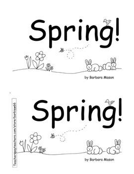 SPRING PLANTS ELA MATH C. Core 96 pg PACK Printable Centers Skills Books Plans