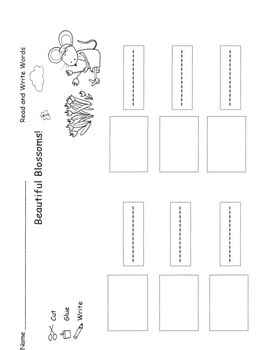 SPRING PLANTS ELA MATH C. Core 96 pg PACK Printable Centers Skills Books Plans
