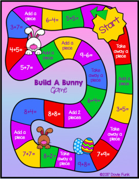 SPRING Easter Math - THREE Center Activities!