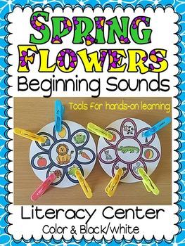 SPRING- FLOWER BEGINNING SOUNDS SPRING CENTRE ACTIVITY