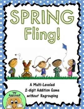 SPRING Fling! (a Multi-leveled 2-Digit Addition Game)