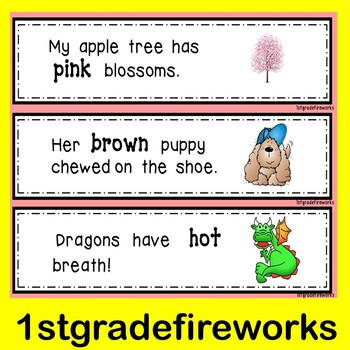 SPRING Fluency..with a Focus on ADJECTIVES