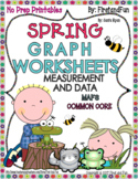 SPRING GRAPH NO PREP WORKSHEET PRINTABLE PACK COMMON CORE