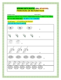 SPRING INTO MATH: COUNTING: AN ESL/ SPANISH ACTIVITY: K,1