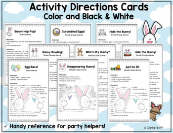 SPRING - It's Party Time!  8 Great Games for Easter Parties