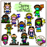 SPRING - KIDS WITH MASK