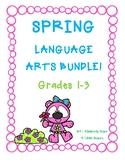 SPRING Language Arts Bundle! Grades 1-3
