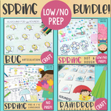 SPRING Low to No Prep Speech Therapy Bundle