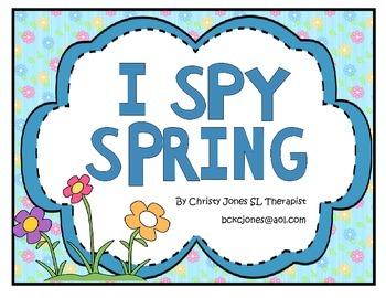 I SPY SPRING (An I Spy Activity)