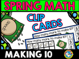 MAKING TEN ADDITION SEEDS (APRIL ACTIVITY KINDERGARTEN) SPRING MATH CENTER