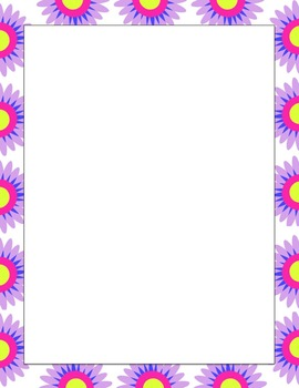 SPRING/MOTHERS DAY Border Background