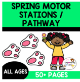 SPRING MOTOR STATIONS & GROSS MOTOR for all spring long! OT SPED