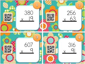 SPRING MULTIPLICATION QR Code Fun
