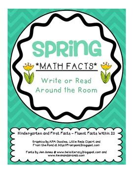 *SPRING* Math Facts Math Center/Game