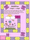 SPRING Math Game Addition 2 digit plus 1 digit