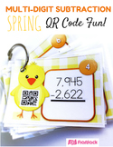 SPRING Multi-Digit SUBTRACTION QR Code Fun