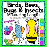 SPRING Non-Standard Measurement Mats | Birds Bees Bugs & Insects