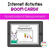 SPRING Nonstandard Measurement. Distance Learning. Boom Cards
