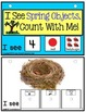 SPRING OBJECTS Build A Sentence with Pictures for Autism/Special Education/ELL