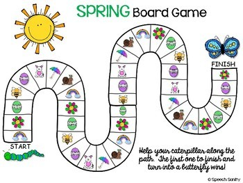 SPRING Open-Ended Activities for Speech & Language Therapy