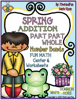 SPRING PART PART WHOLE ADDITION NUMBER BONDS MATS N WORKSH