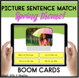 SPRING PICTURE SENTENCE MATCH