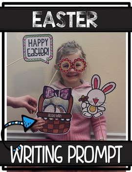 SPRING Photo Booth WRITING PROMPTS {Crafts/Bulletin Board}