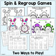 SPRING 3-digit Addition & Subtraction with Regrouping - Worksheets & Activities