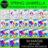 SPRING Progression Color By Code: Umbrella